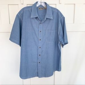 Men's Shaver Lake Short Sleeve Button Down Shirt